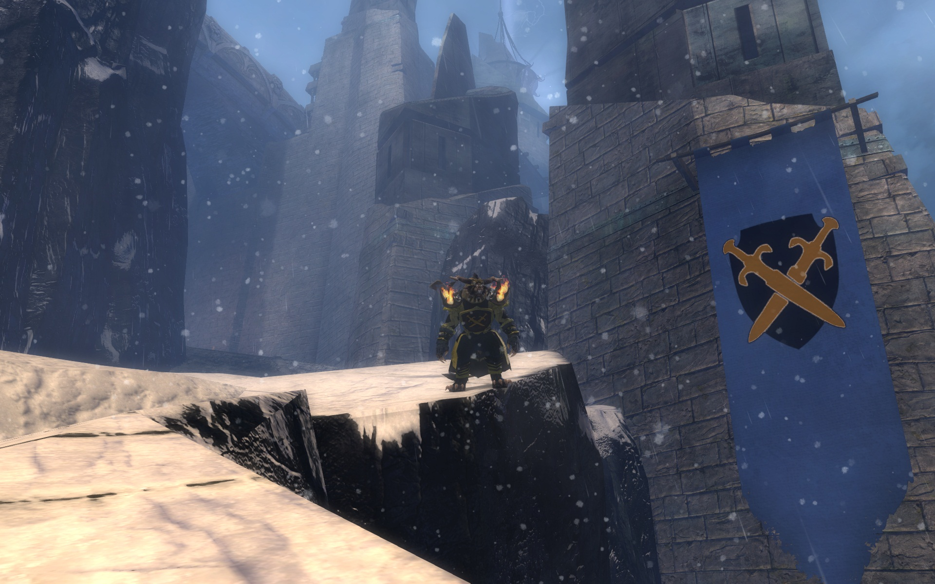 GROW BK sur Guildwars 2 - 1920 x 1200 - claim garnison